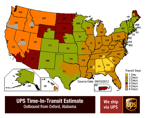 Ups Shipping Estimate Us - Best Ship 2017